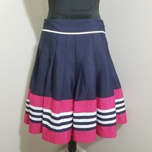 Tommy Hilfiger Color Block Stripe A Line SZ 6